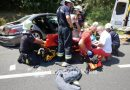 A tűzoltók szabadították ki a marcali baleset sérültjét.