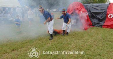 Tűzoltó hagyományok elevenedtek fel Marcaliban