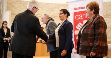 Caritas Hungrica Díjat kaptak a gadányi Karitász Csoport vezetői