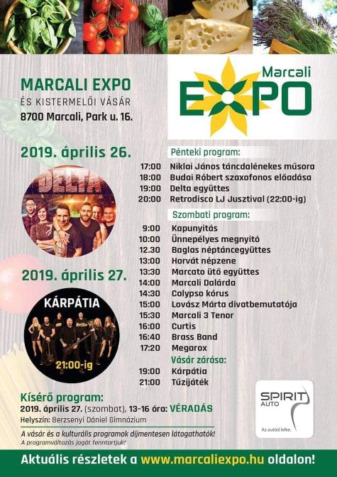 Marcali Expo és Kistermelői Vásár @ Marcali