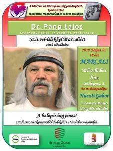 Dr. Papp Lajos professzor előadása @ Marcali Művelődési Ház