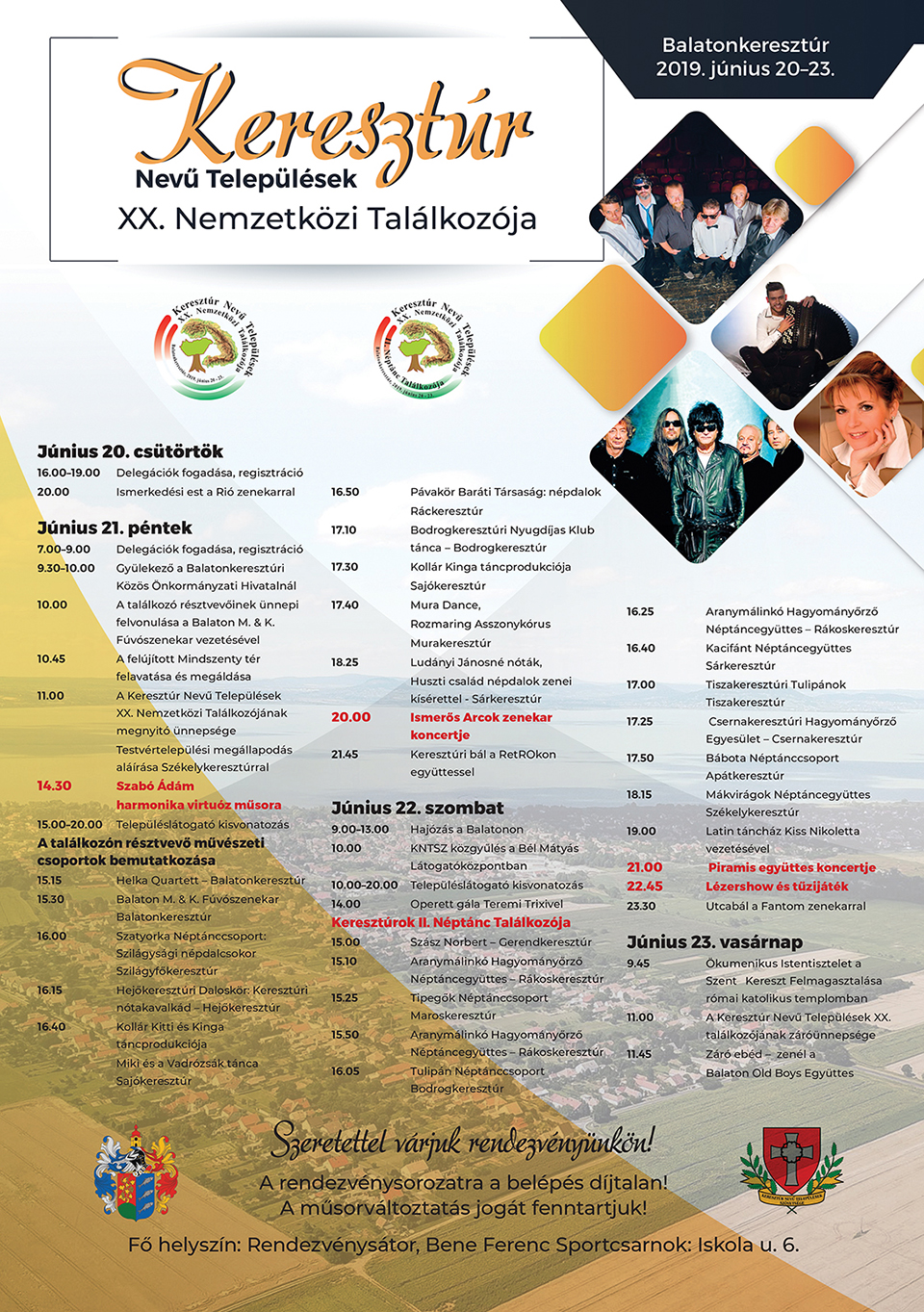 Keresztúr Nevű Települések XX. Nemzetközi Találkozója