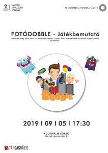 FOTÓDOBBLE - JÁTÉKBEMUTATÓ @ Kulturális Korzó