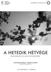 """""""A hetedik hétvége"""" - Válogatáskiállítás @ Kulturális Korzó"""