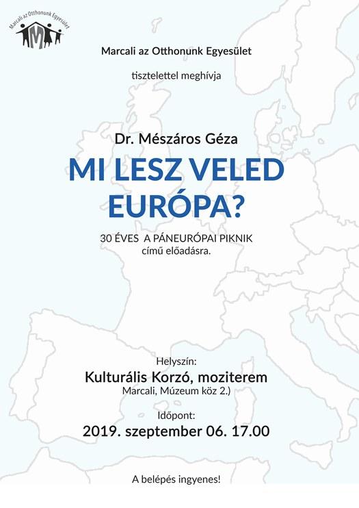 Mészáros Géza - Mi lesz veled Európa?