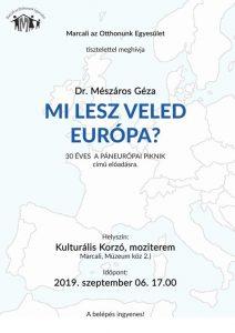 Mészáros Géza - Mi lesz veled Európa? @ Kulturális Korzó
