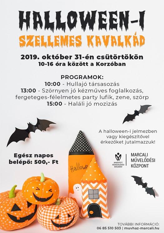 Halloween-i szellemes kavalkád