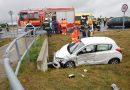Két autó ütközött a marcali elkerülőn
