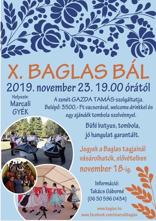 X. Baglas bál