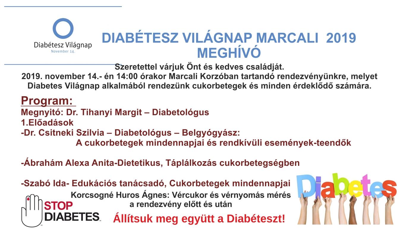 Diabétesz Világnapja Marcaliban