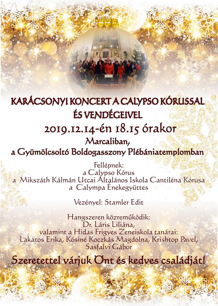 Karácsonyi Koncert a Calypso Kórussal és vendégeivel