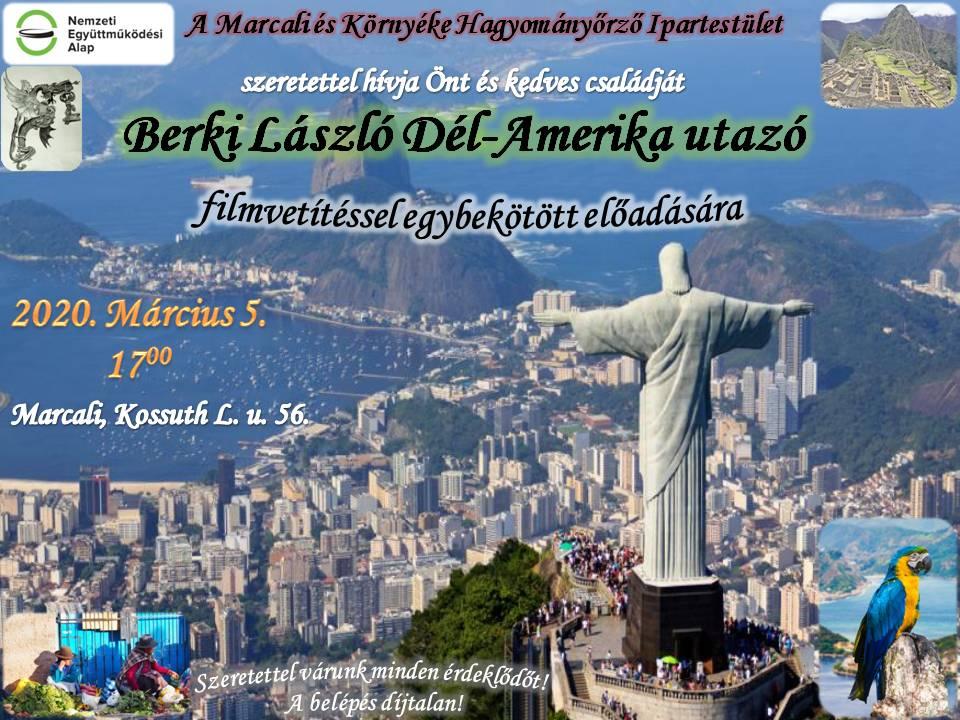 Berki László utazó előadása