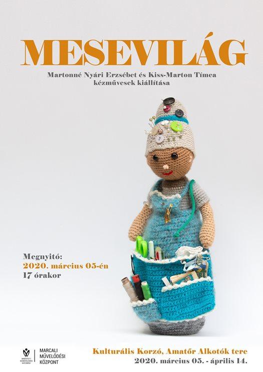 MESEVILÁG Martonné Nyári Erzsébet és Kiss-Marton Tímea kiállítása