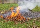 Tájékoztató avar és kerti hulladék égetésére vonatkozóan