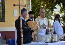 Szent István-napi ünnepi szabadtéri szentmiseés kenyérmegáldás Marcaliban