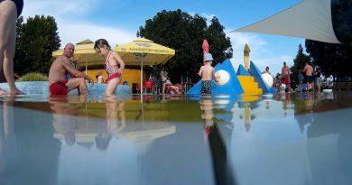 Végre itt a nyár. Rendezvénnyel nyit a strand – VIDEÓ