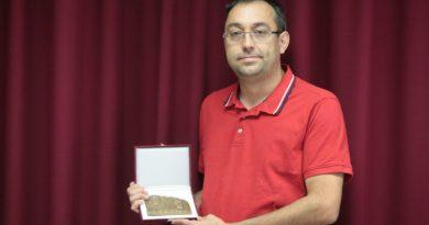 Pulszky Károly-díjat kapott Huszár Mihály, a Marcali Múzeum főmuzeológusa!