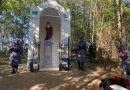 Felavatták Bájhóber István horvátkúti katona emlékére felállított és felújított emlékhelyet