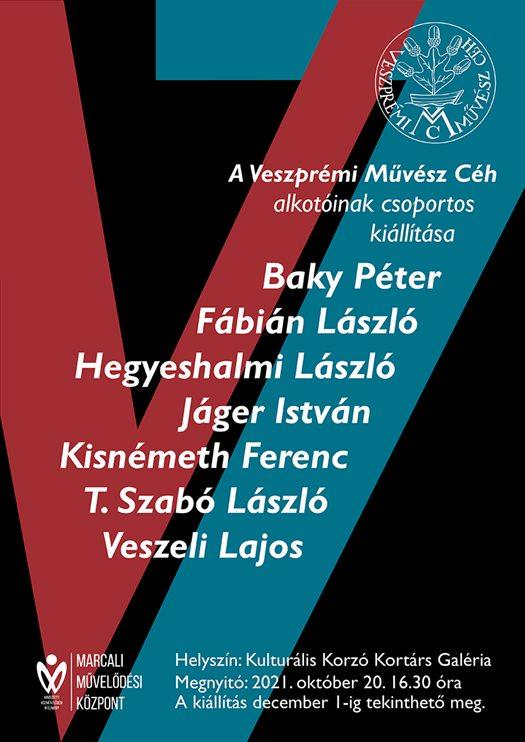 A Veszprémi Művész Céh alkotóinak csoportos kiállítása