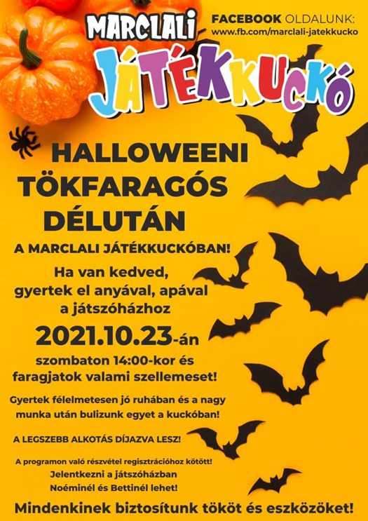 Halloweeni Tökfaragós délután